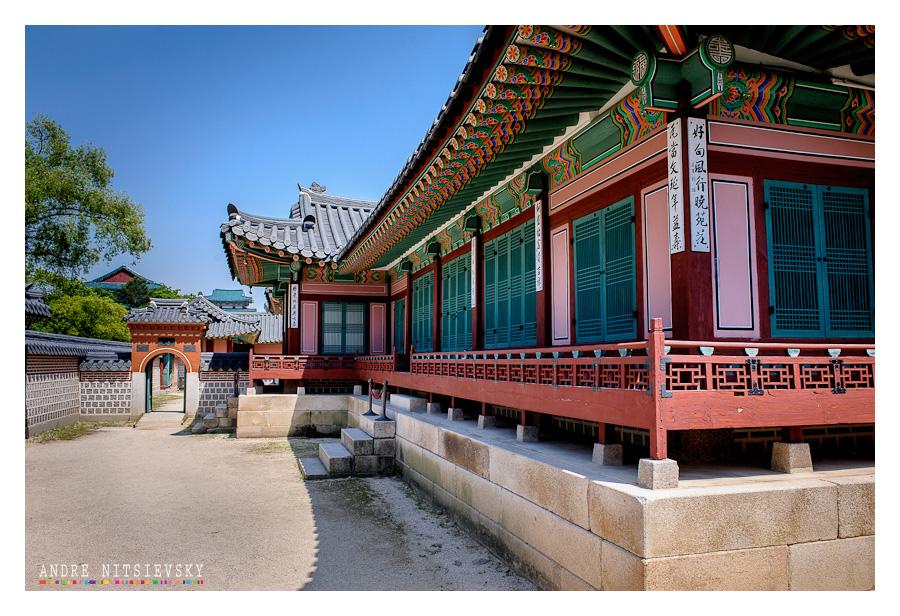 Кёнбоккун — «Северный дворец» (경복궁)