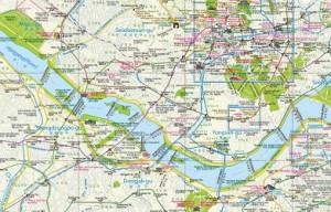 Туристическая карта Сеула