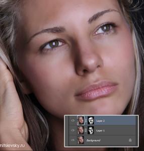 Обработка кожи в фотошопе