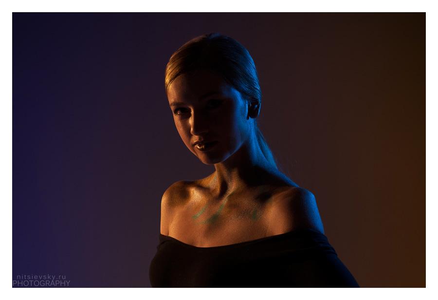 Фотосессия бьюти в студии. Beauty