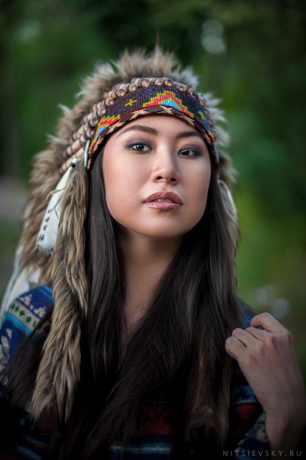 роуч индейцы индианка