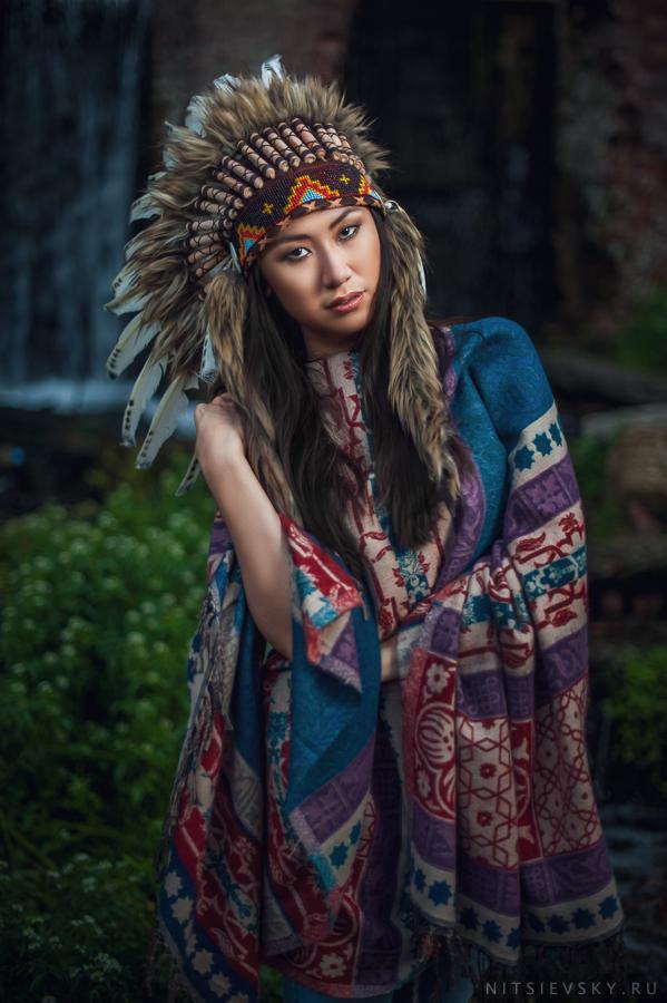 девушка индеанка навахо