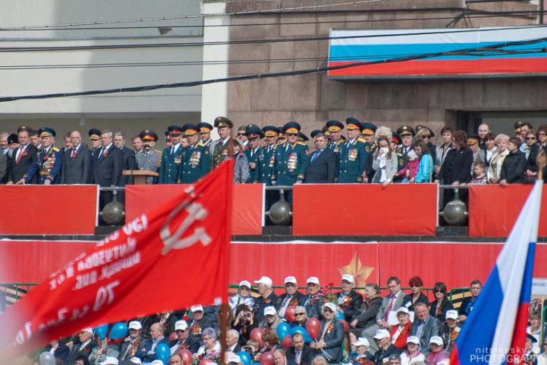 Парад 9 мая в Ростове-на-Дону