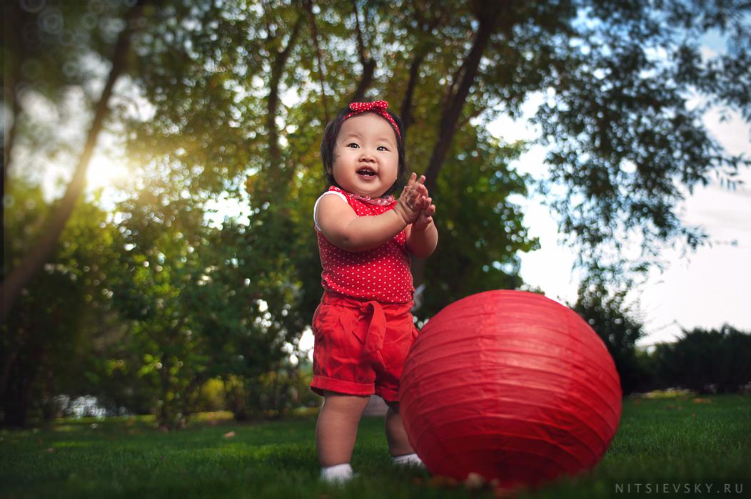 Детская фотосессия на природе Ростов