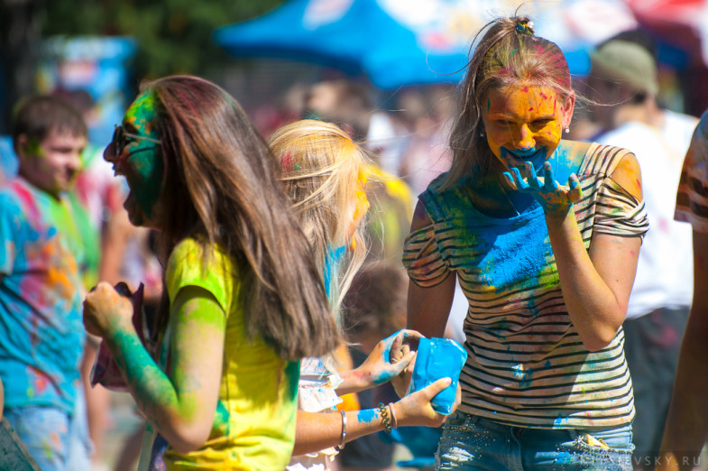 Фестиваль красок в Ростове 2016