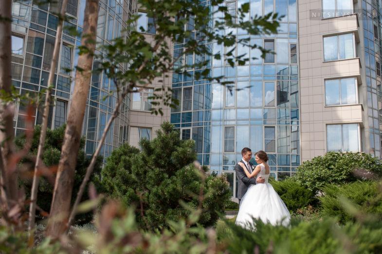 Свадебная фотосессия в Лиге Наций