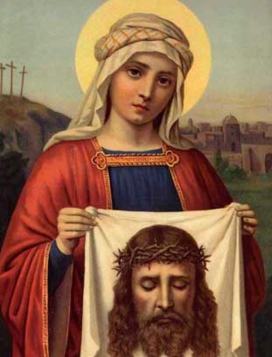Святая Вероника и ее нерукотворный образ Иисуса Христа