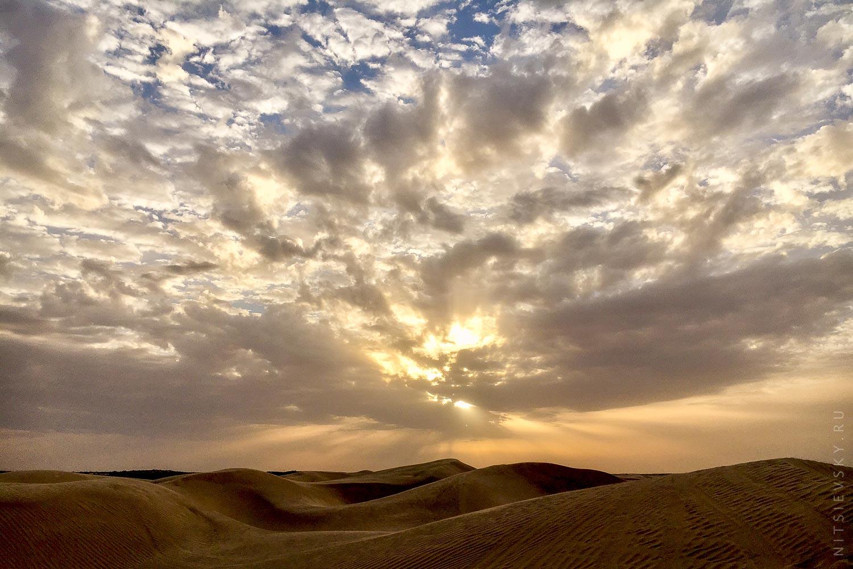 Рассвет в Сахаре
