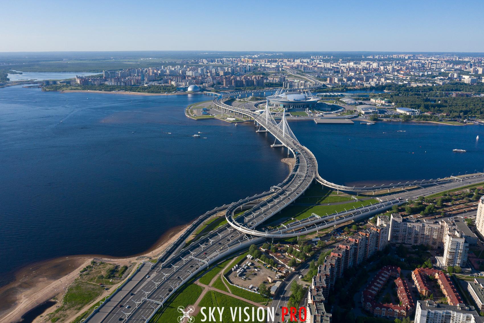 Вантовый мост Санкт-Петербург