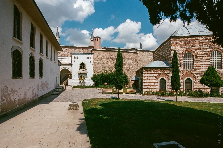 Дворы дворца Топкапы