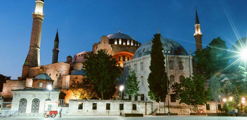 Голубая мечеть Айя-София