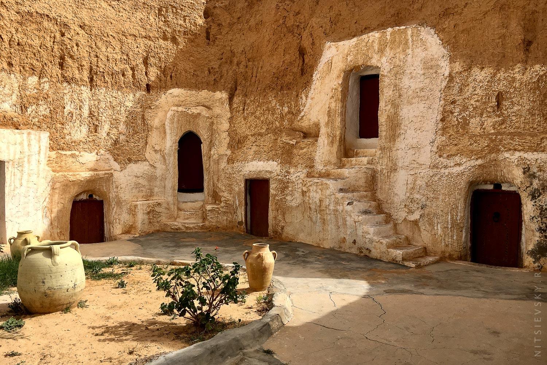 Отель берберов в Сахаре